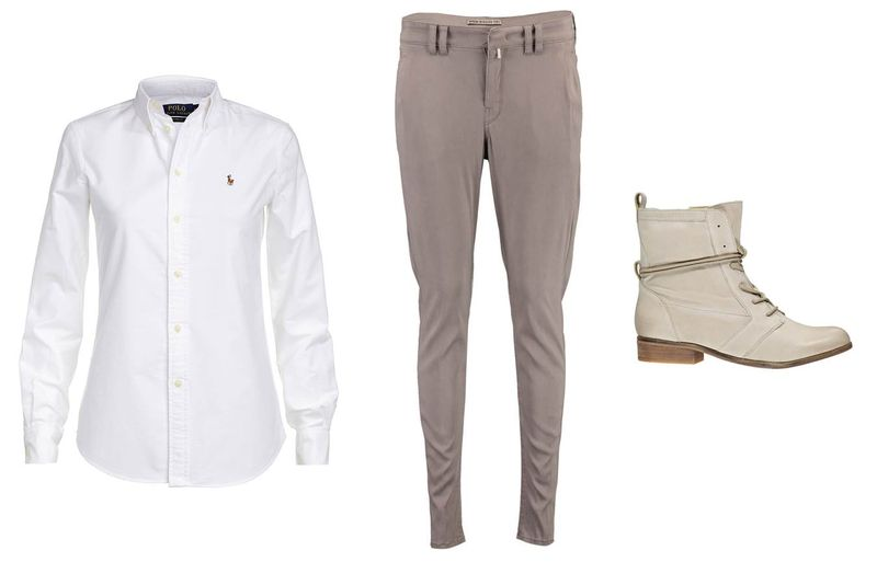 Polo Ralph Lauren Bluse_Drykorn Hose_SPM Boots Stiefeletten