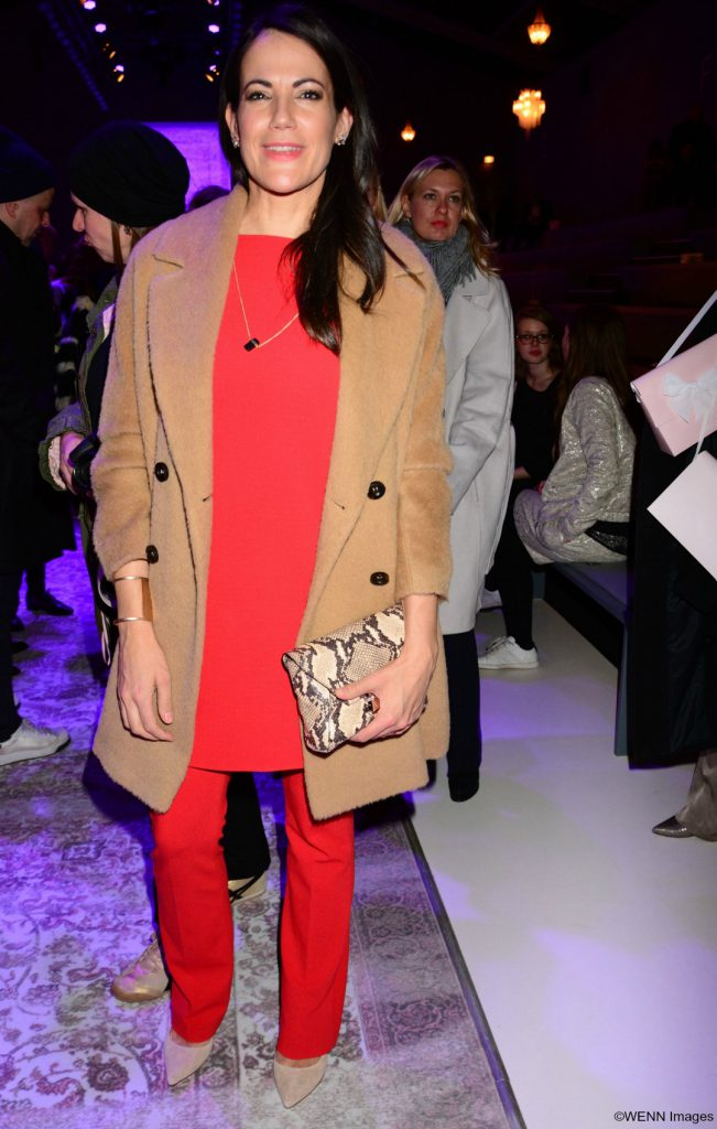 Mercedes-Benz Fashion Week Berlin F/W 2016 - Marc Cain - Arrivals and Front Row Featuring: Bettina Zimmermann Where: Berlin, Germany When: 19 Jan 2016 Credit: AEDT/WENN.com