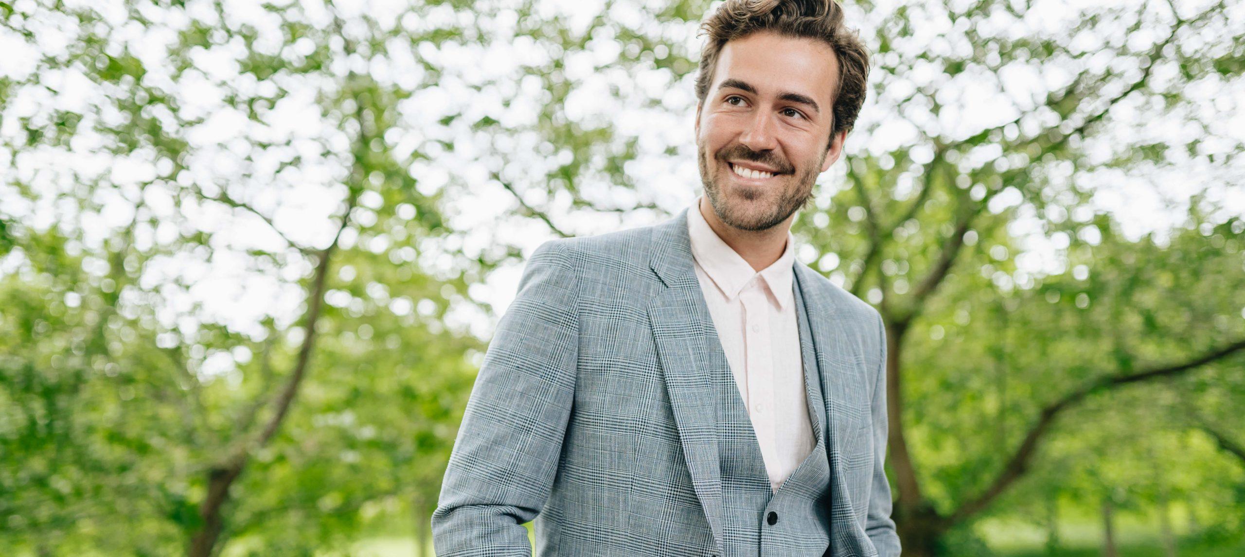 Suit up! Pimp' deinen Anzug für eine Hochzeit!