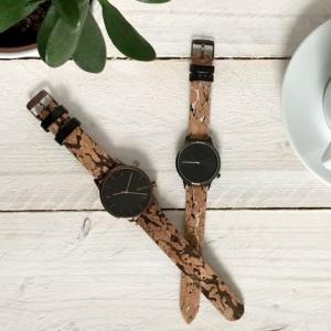 Komono: Uhren aus Kork