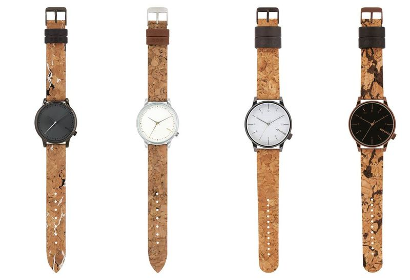 Komono Uhren aus Kork