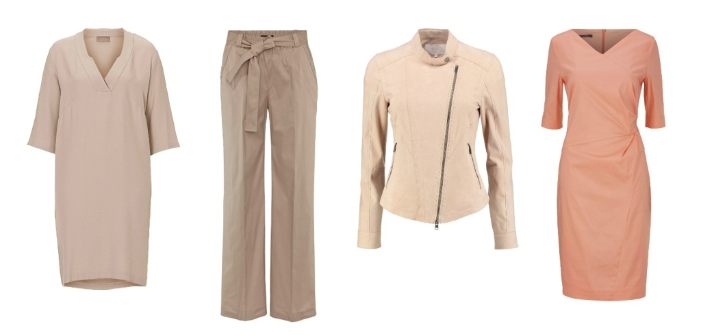 Standesamt Outfit - Nude & Apricot