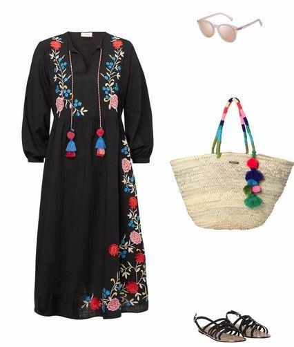 Strandtasche Outfit Boho