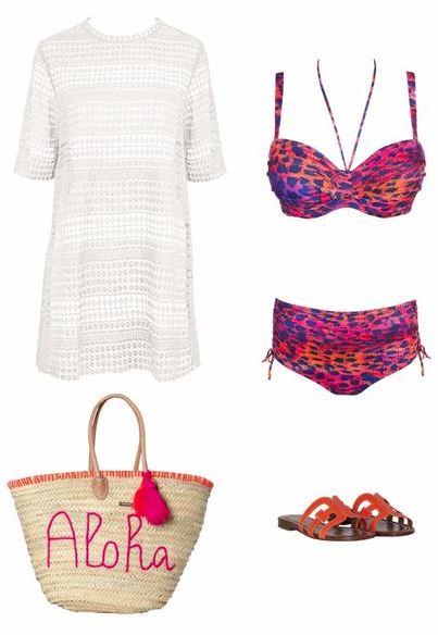 Strandttasche Outfit