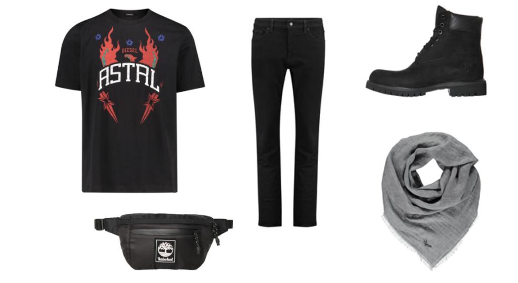 Festival Outfit für Männer - Outfitinspiration