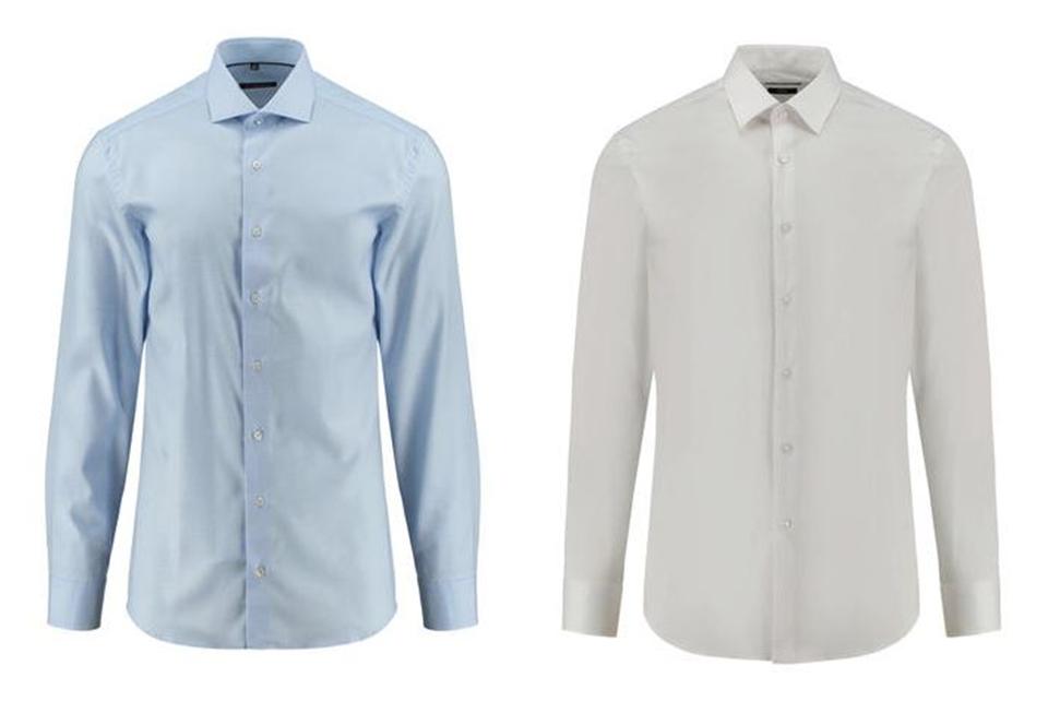 Hemden zu gemusterten Bermudas