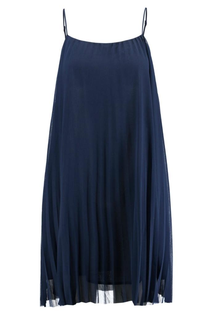 Kleid Plissee Minimum geschnitten