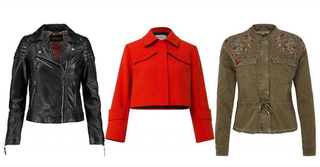 Auswahl an Jacken