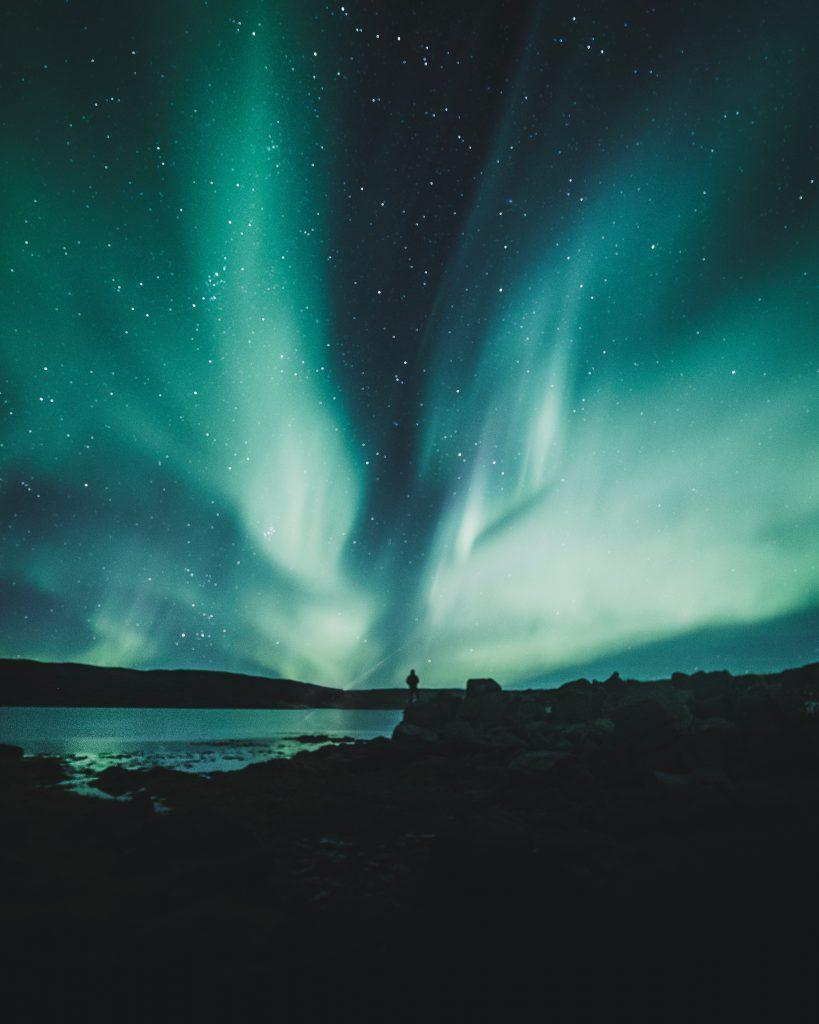 Urlaubsziele Island Polarlichter