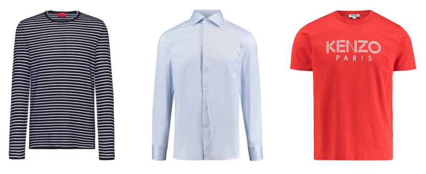 Mode für muskulöse Männer: Hemden, T-Shirts und Pullover