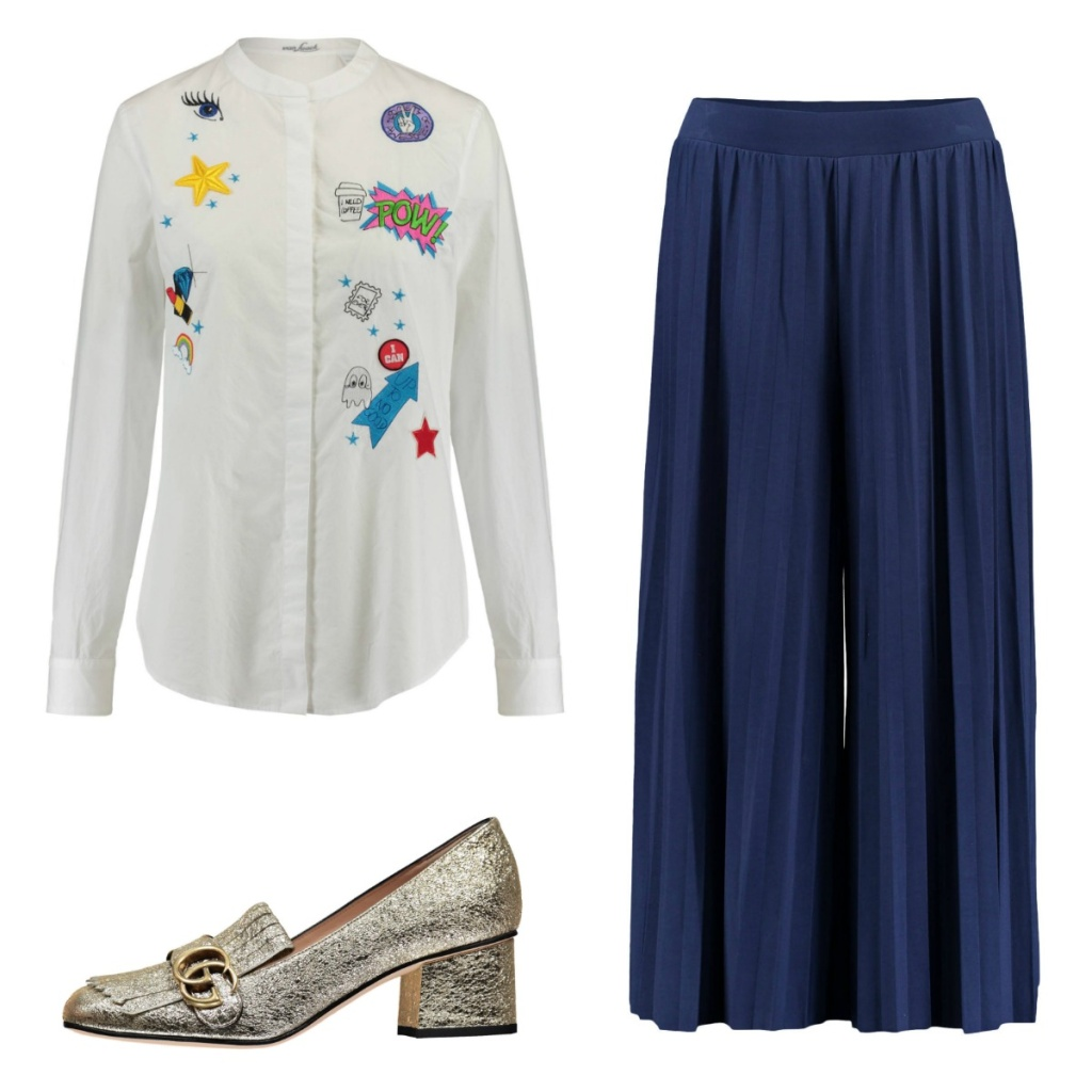 Collage Culotte Look