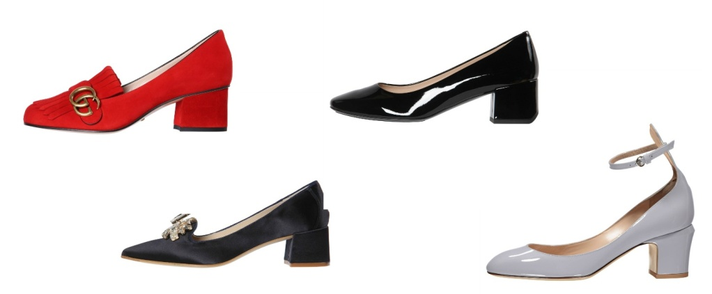 Collage Pumps