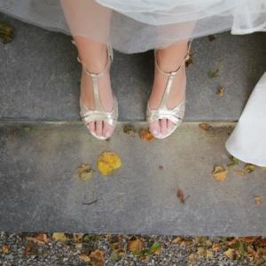 Und die Braut trug… flache Schuhe