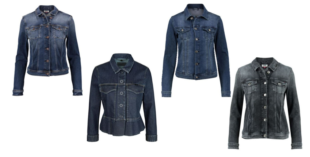 Jeansjacke Trend Dark Denim