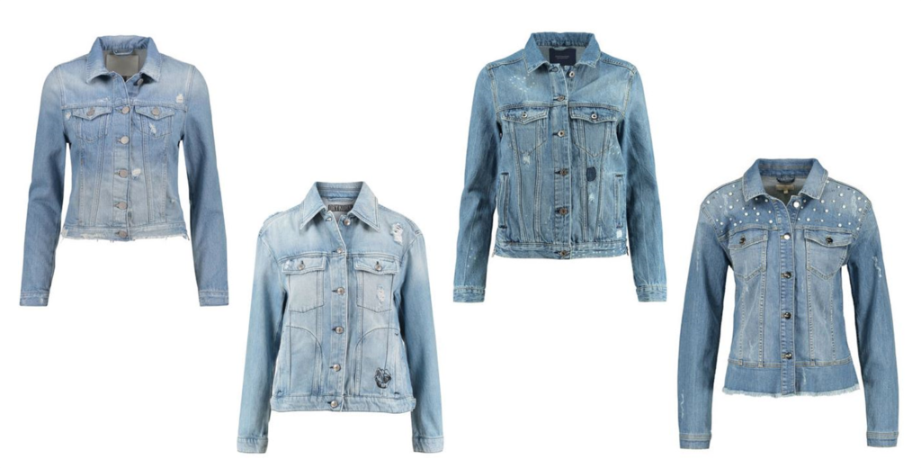 Jeansjacke Trend Destroyed Denim