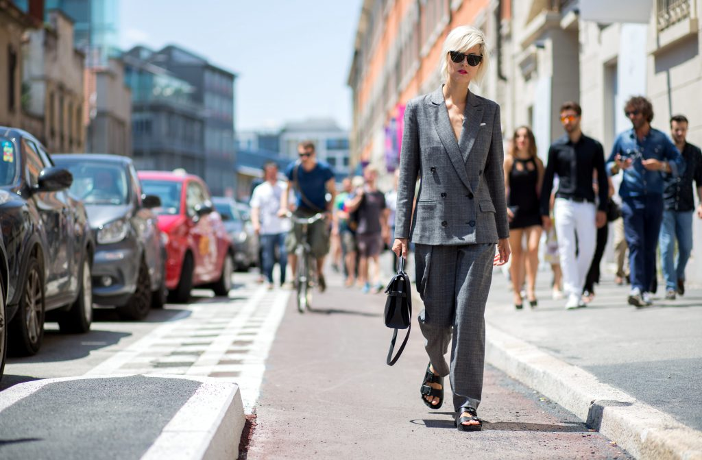 EXCLUSIVE Streetstyle photos during Milan Men Fashion Week SS16 Featuring: Linda Tol Where: Florence, Italy When: 20 Jun 2015 Credit: The Styleograph/WENN.com