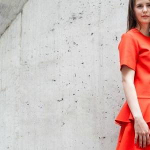 Victoria Beckham: Orange im Stylecheck