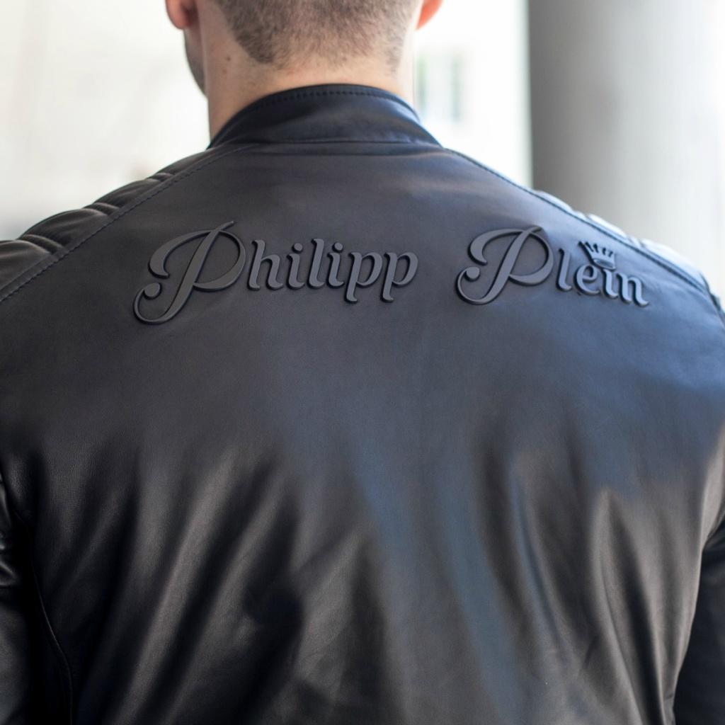 Philipp Plein Lederjacke FB