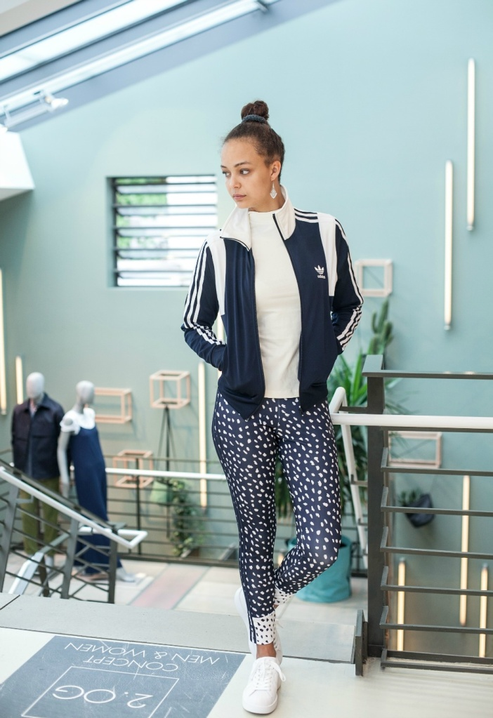 Adidas Ganzkörper Look