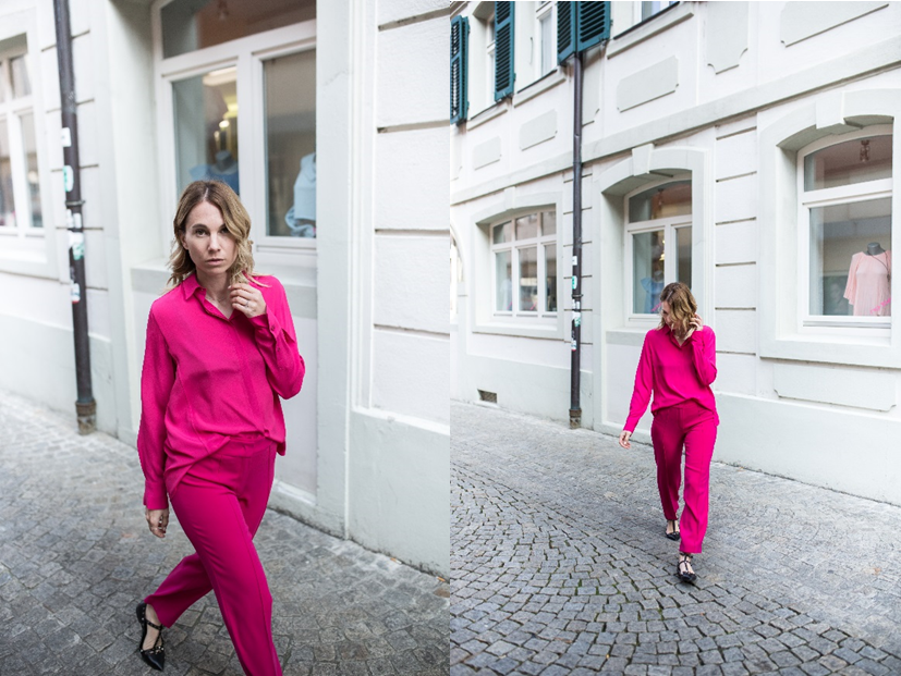 All Pink outfit von Riani