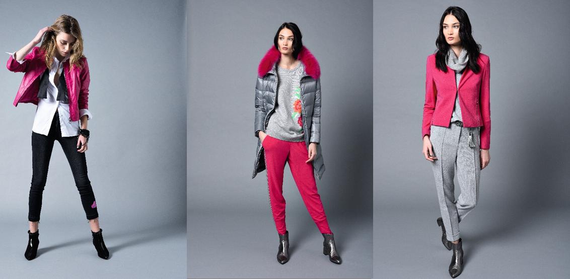 Pinke Outfit Kombinationen von Riani