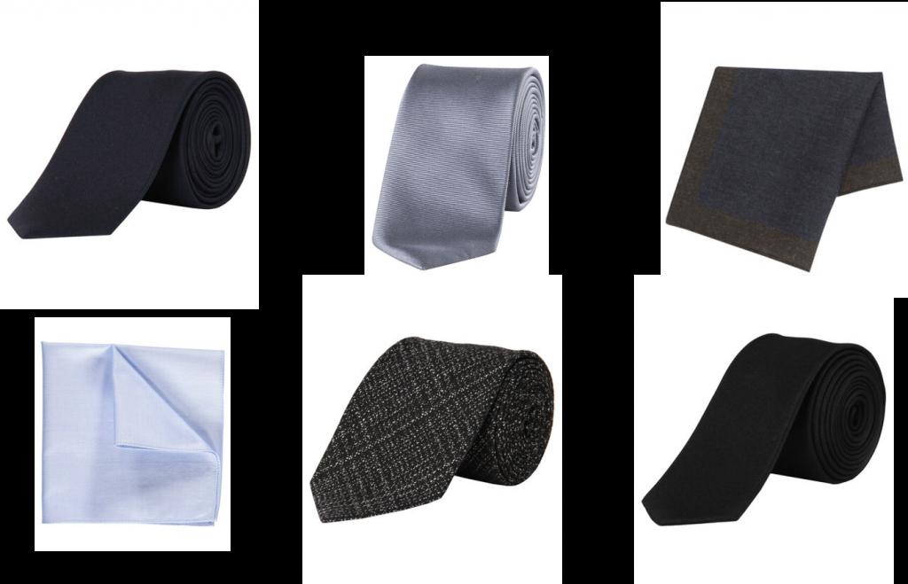 Krawatte, Einstecktuch