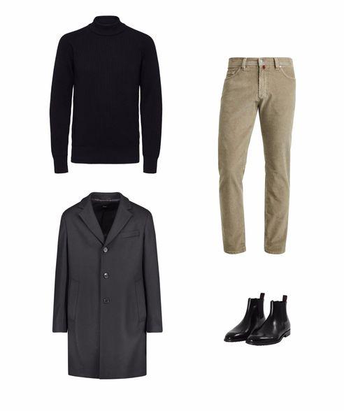 stressfreie Adventszeit casual Outfit Herren