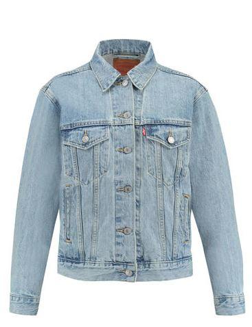 Denim-Jacket mit heller Waschung
