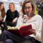 Annette Weber Lesung Strenesse Modenschau engelhorn