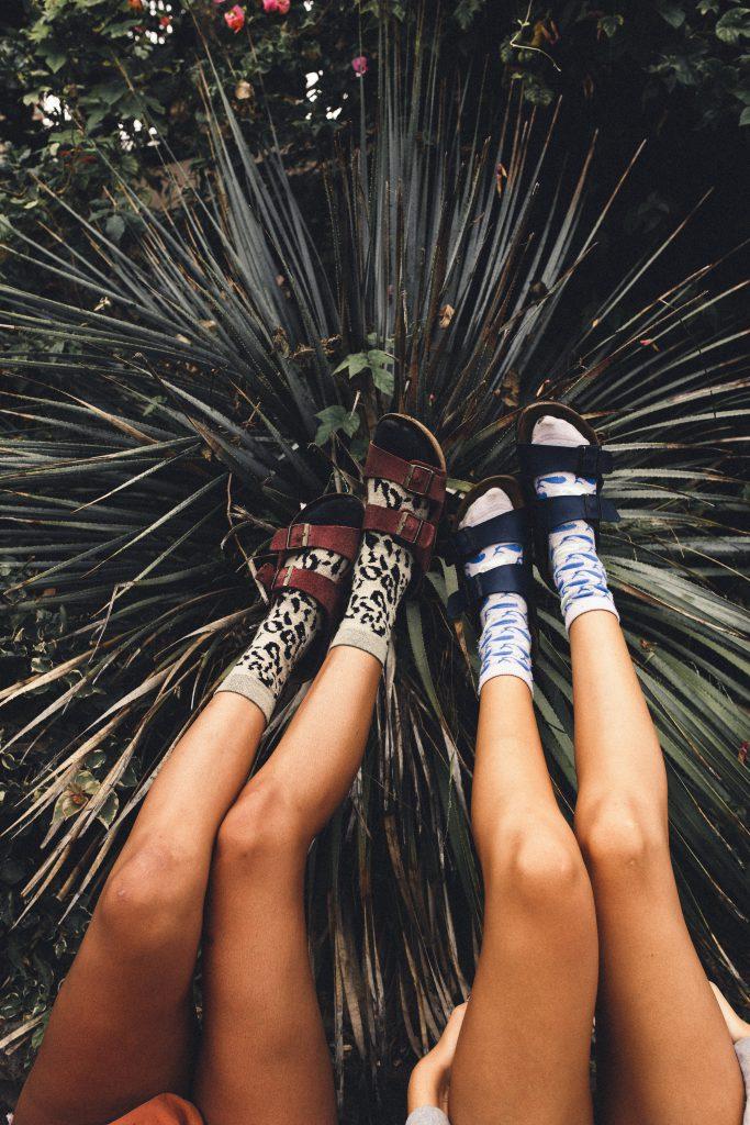 Birkenstock mit Socken