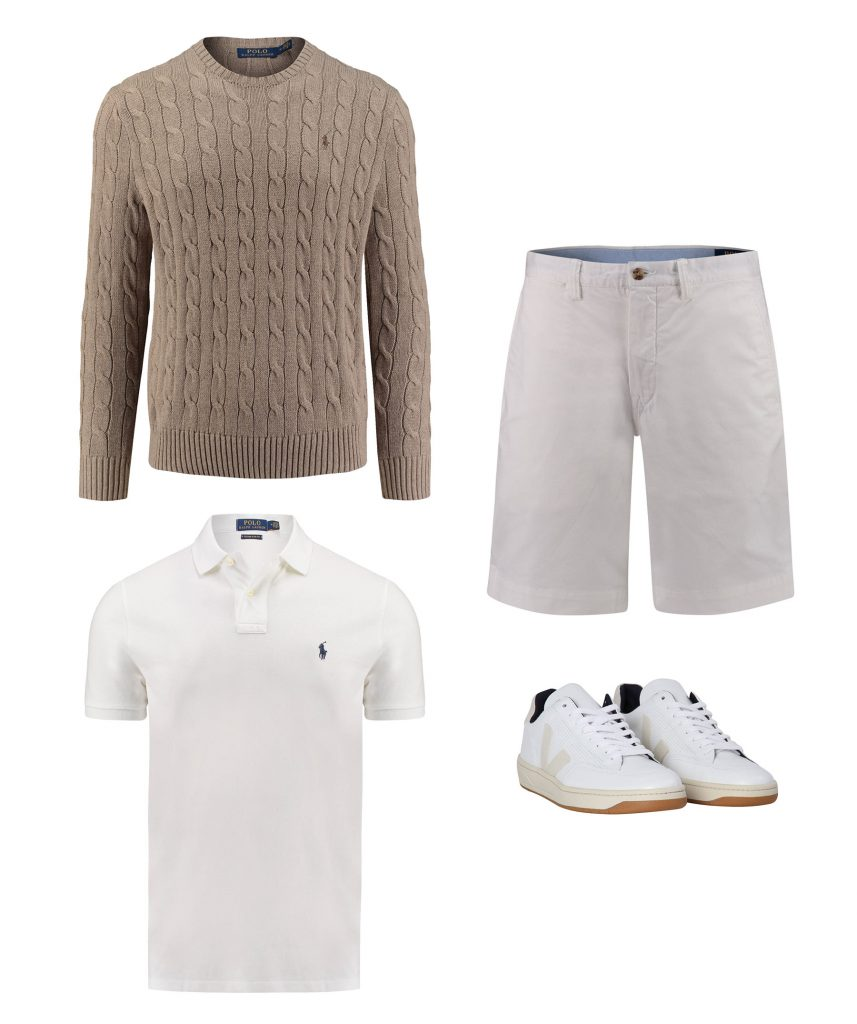 Polo Ralph Lauren Casual Look mit Poloshirt
