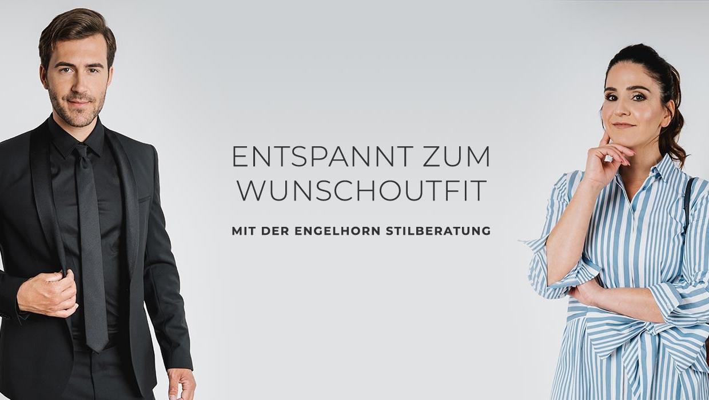 Casual, business oder festlich: Outfit zusammenstellen mit der engelhorn Stilberatung