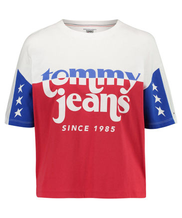 TOMMY JEANS Damen T-Shirt Kurzarm