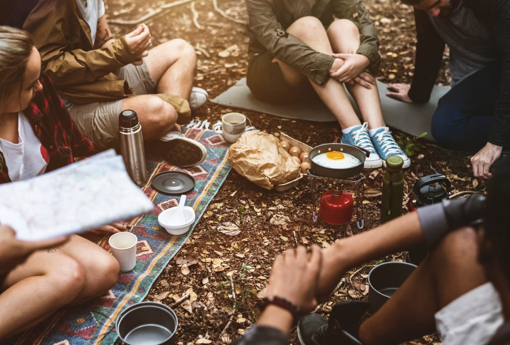 Festival Camping Utensilien