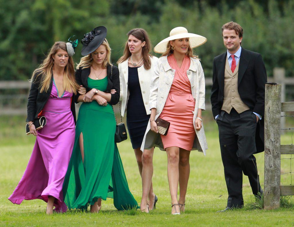Royals attend Gayton wedding