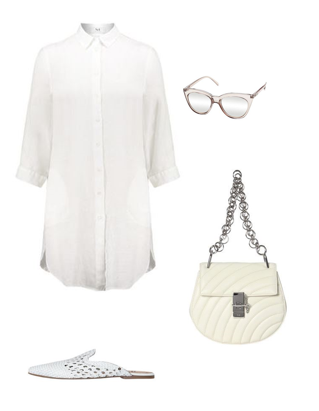All white everything Kleider