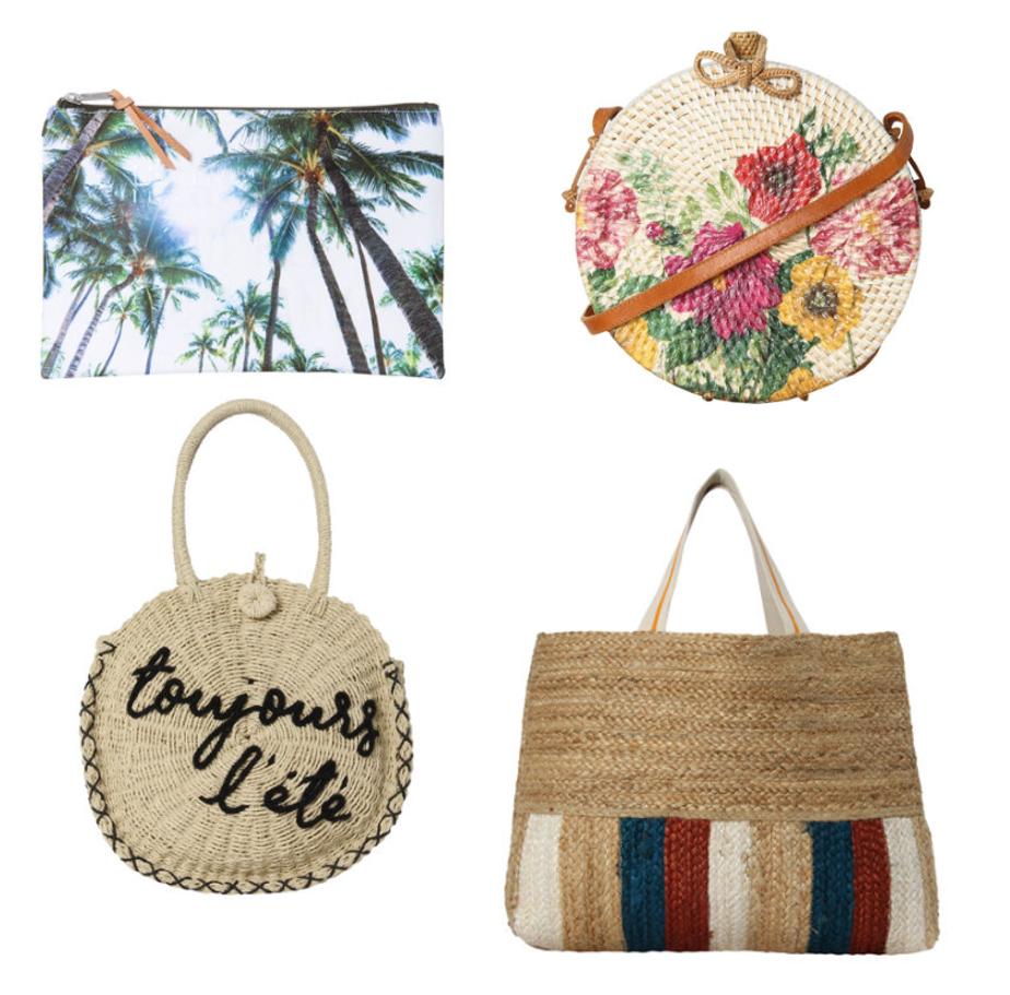 Beach taschen im Sale