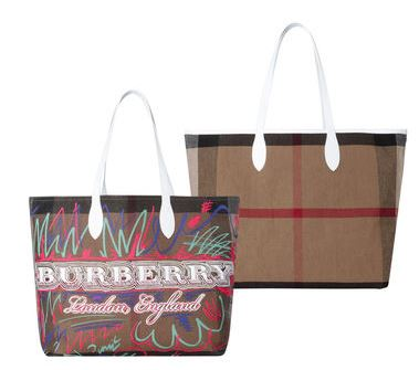 Burberry Luxustasche im Sale Henkeltasche