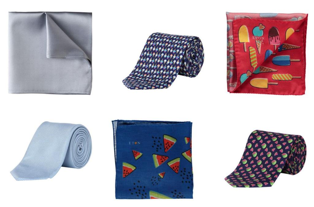 Business Accessoires Krawatten