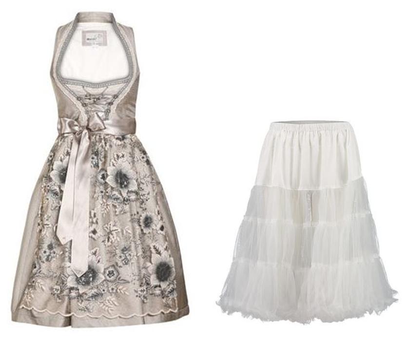 Dirndl Trends 2018 Schürze und Petticoat