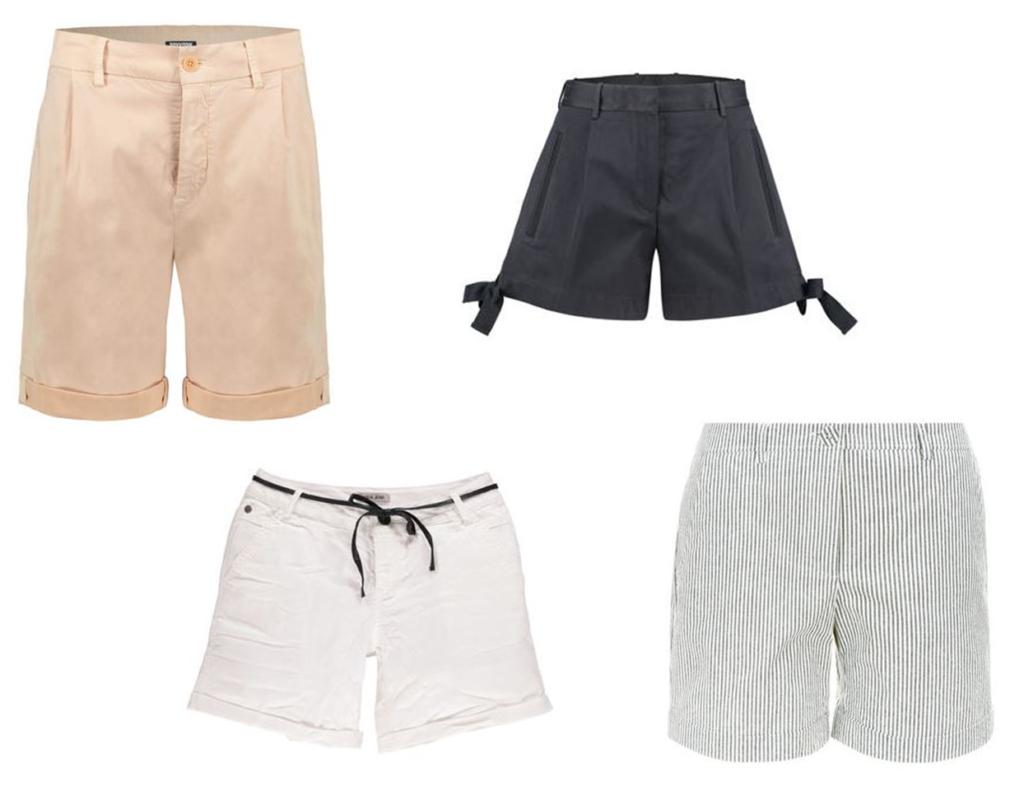 Shorts für kräftige Oberschenkel Farben