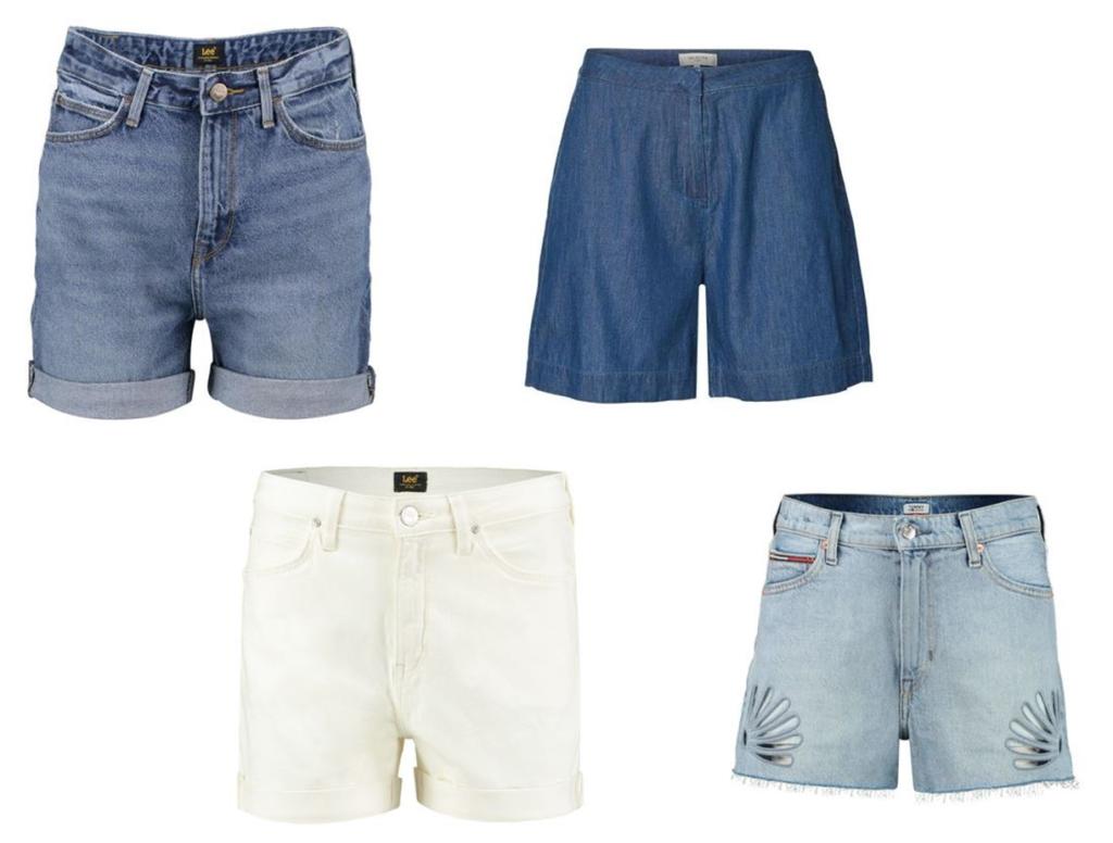 Shorts für kräftige Oberschenkel Materialien