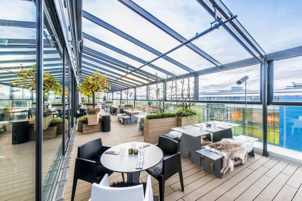 Urlaub zuhause Dachgarten engelhorn