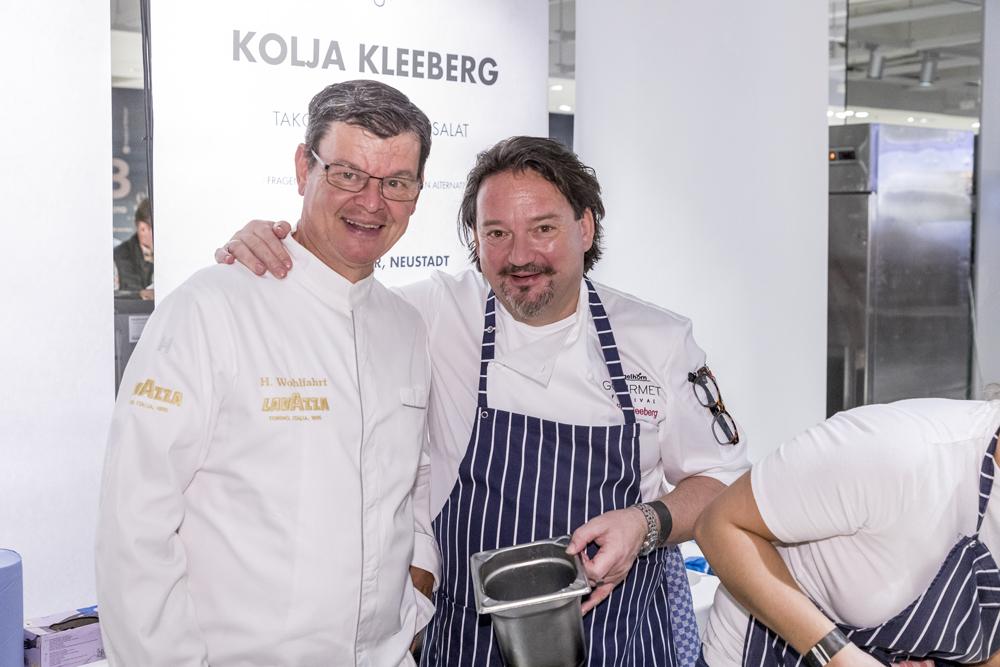 engelhorn Gourmetfestival Harald Wohlfahrt und Kolja Kleeberg