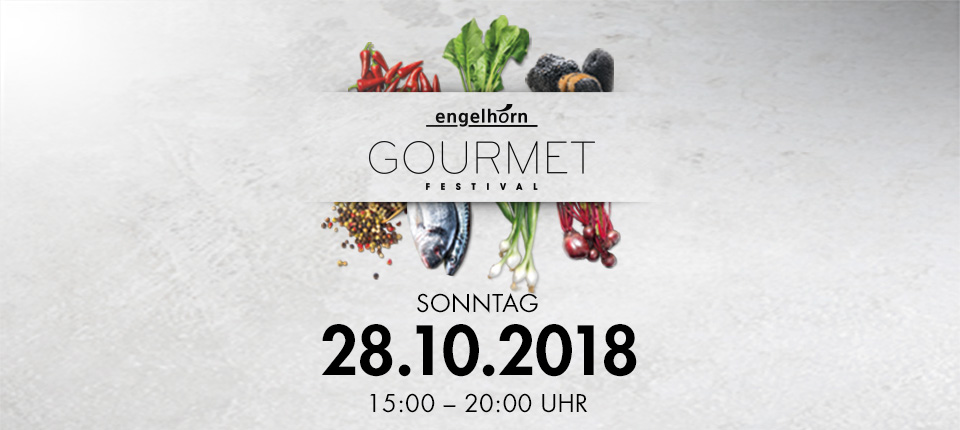 Save the date: engelhorn Gourmetfestival 2018