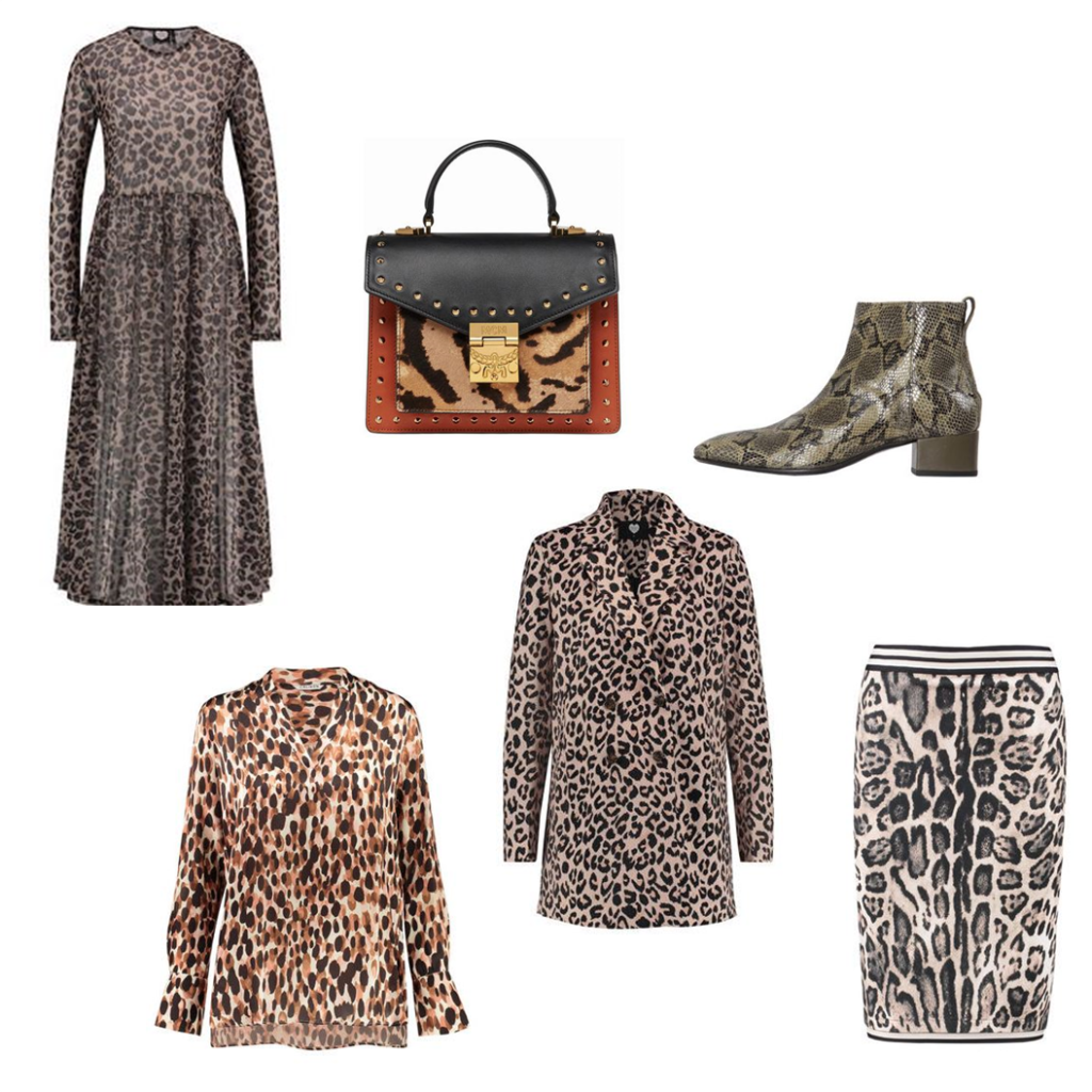 Herbsttrends Animal Print