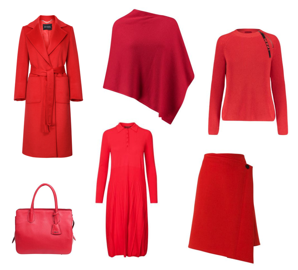 Herbsttrends Rot