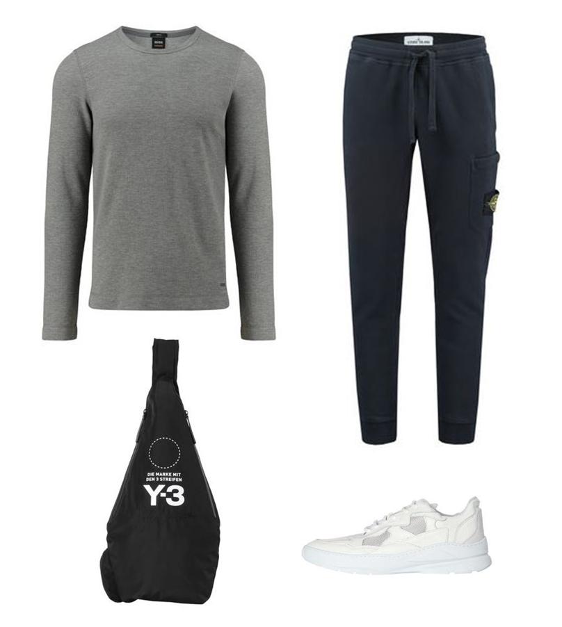 Weiße Sneaker Athleisure