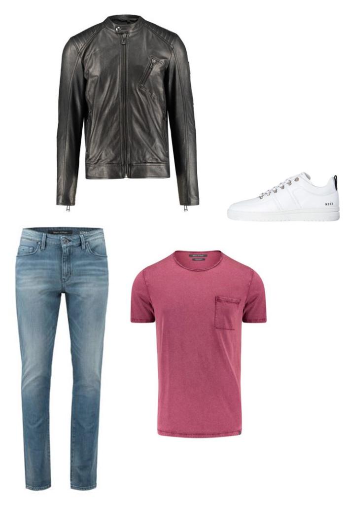 Weiße Sneakers casual Stylen