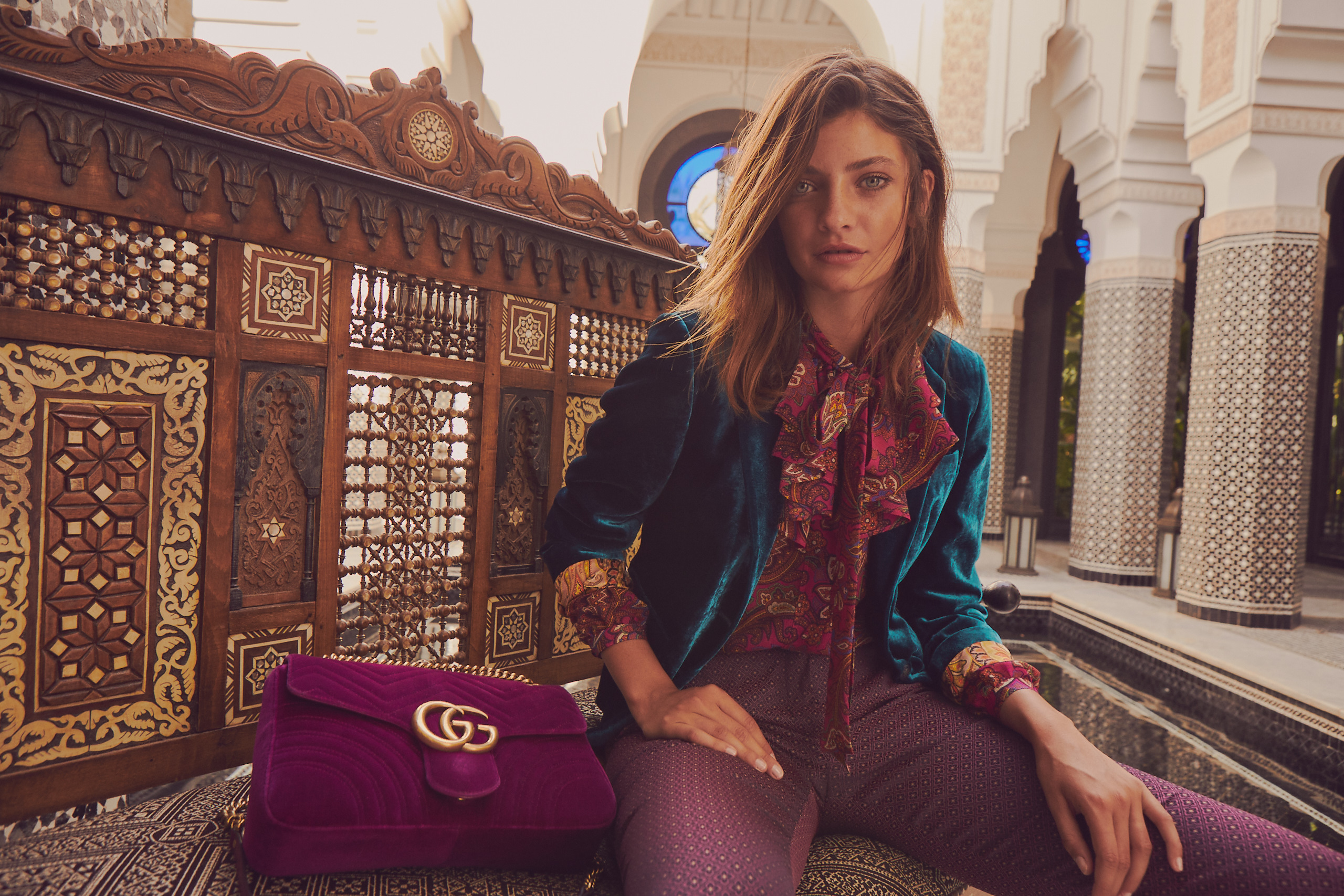 Inspiration Juwelfarbe: Mode wie aus 1001 Nacht